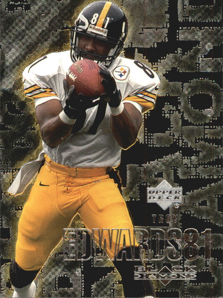 2000 Black Diamond #90 Troy Edwards