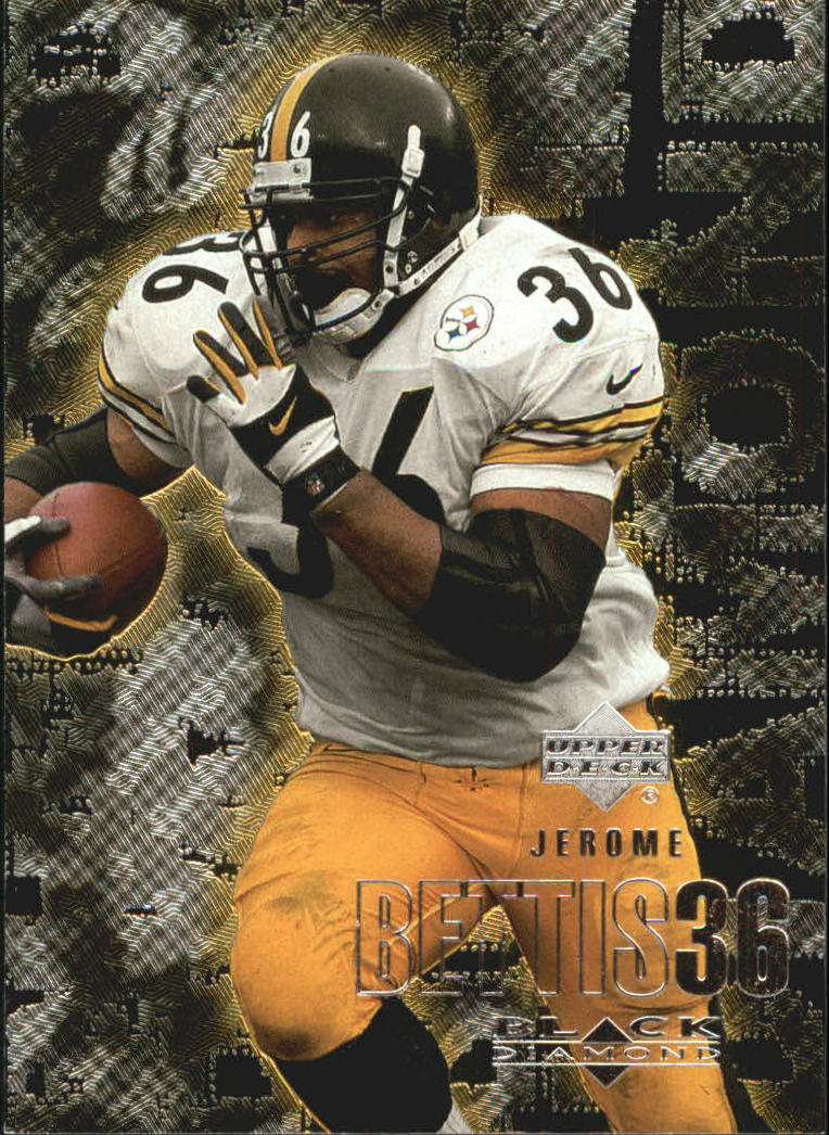 2000 Black Diamond #91 Jerome Bettis