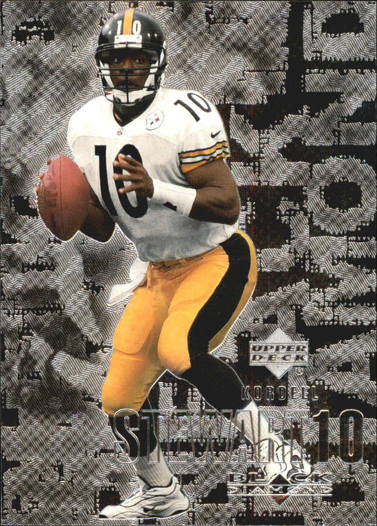2000 Black Diamond #92 Kordell Stewart