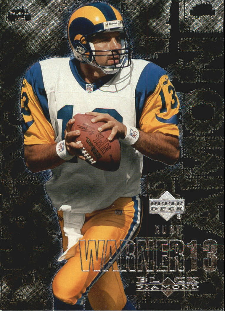 2000 Black Diamond #94 Kurt Warner