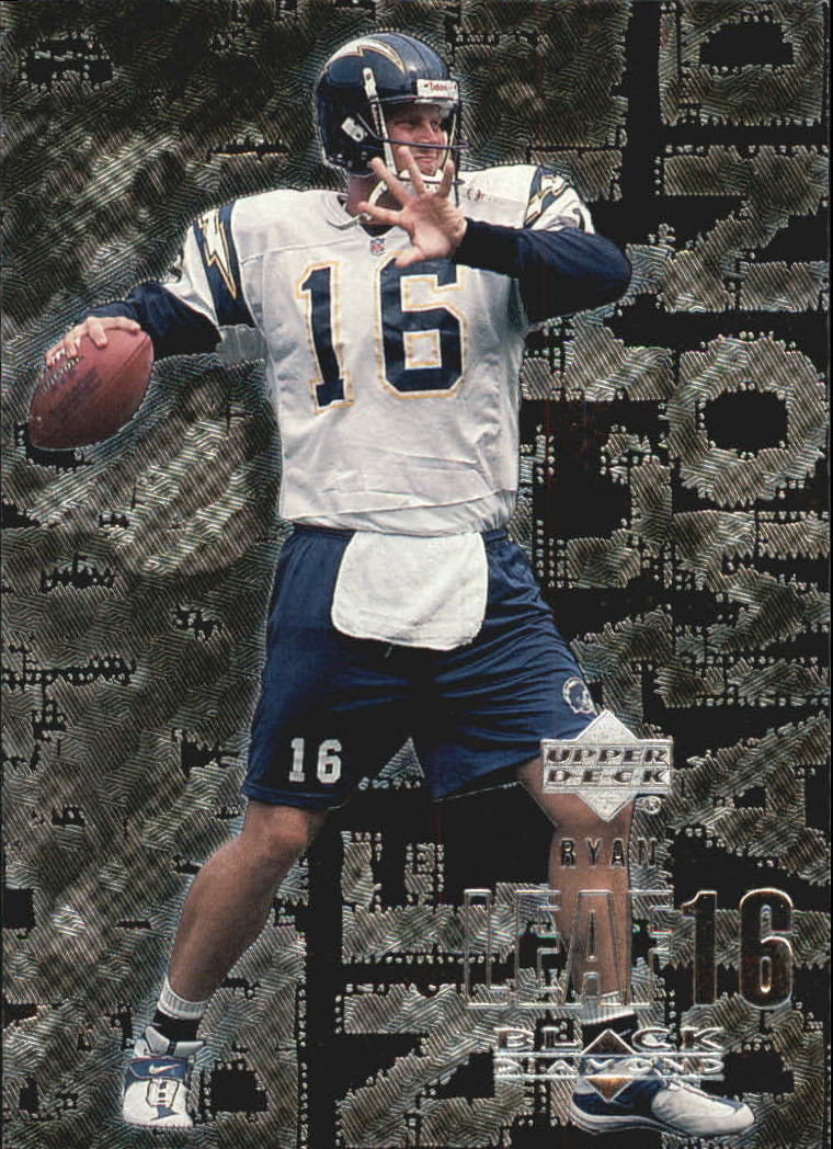 2000 Black Diamond #98 Ryan Leaf