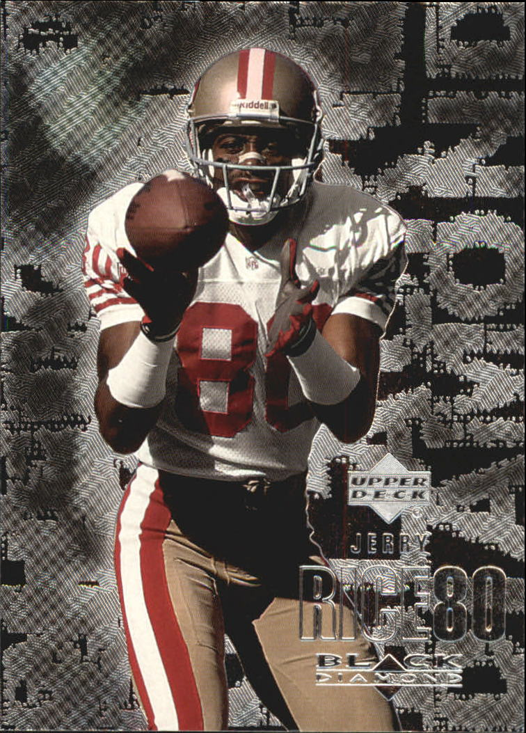 2000 Black Diamond #101 Jerry Rice