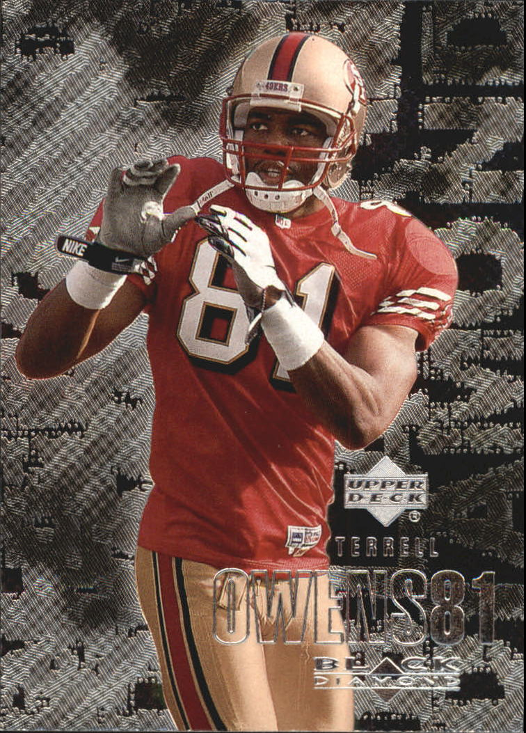 2000 Black Diamond #102 Terrell Owens