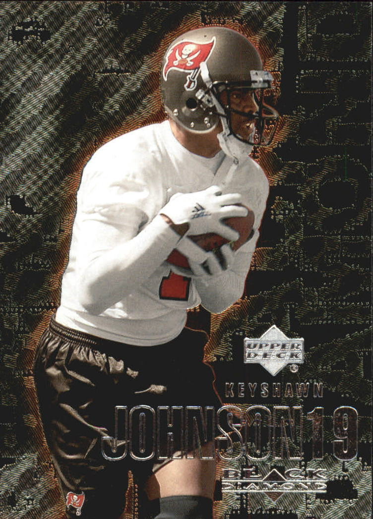 2000 Black Diamond #111 Keyshawn Johnson