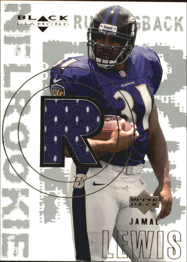 2000 Black Diamond #162 Jamal Lewis JSY RC