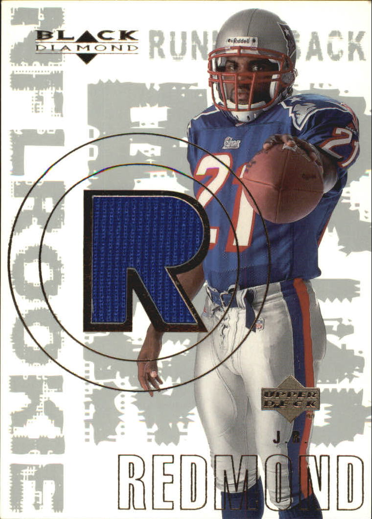 2000 Black Diamond #163 J.R. Redmond JSY RC