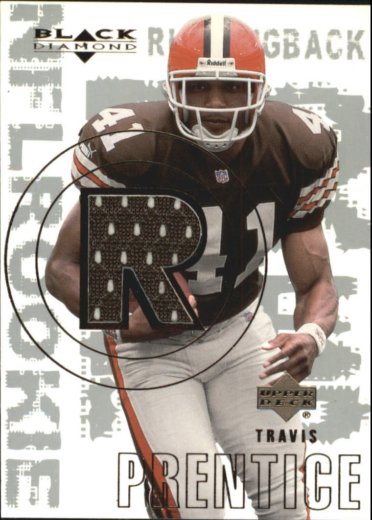 2000 Black Diamond #164 Travis Prentice JSY RC