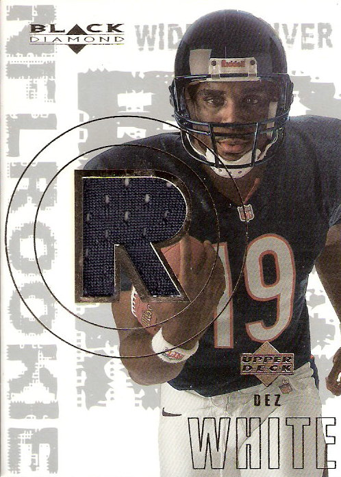 2000 Black Diamond #172 Dez White JSY RC