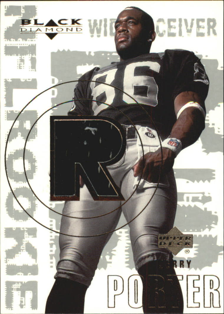 2000 Black Diamond #176 Jerry Porter JSY RC