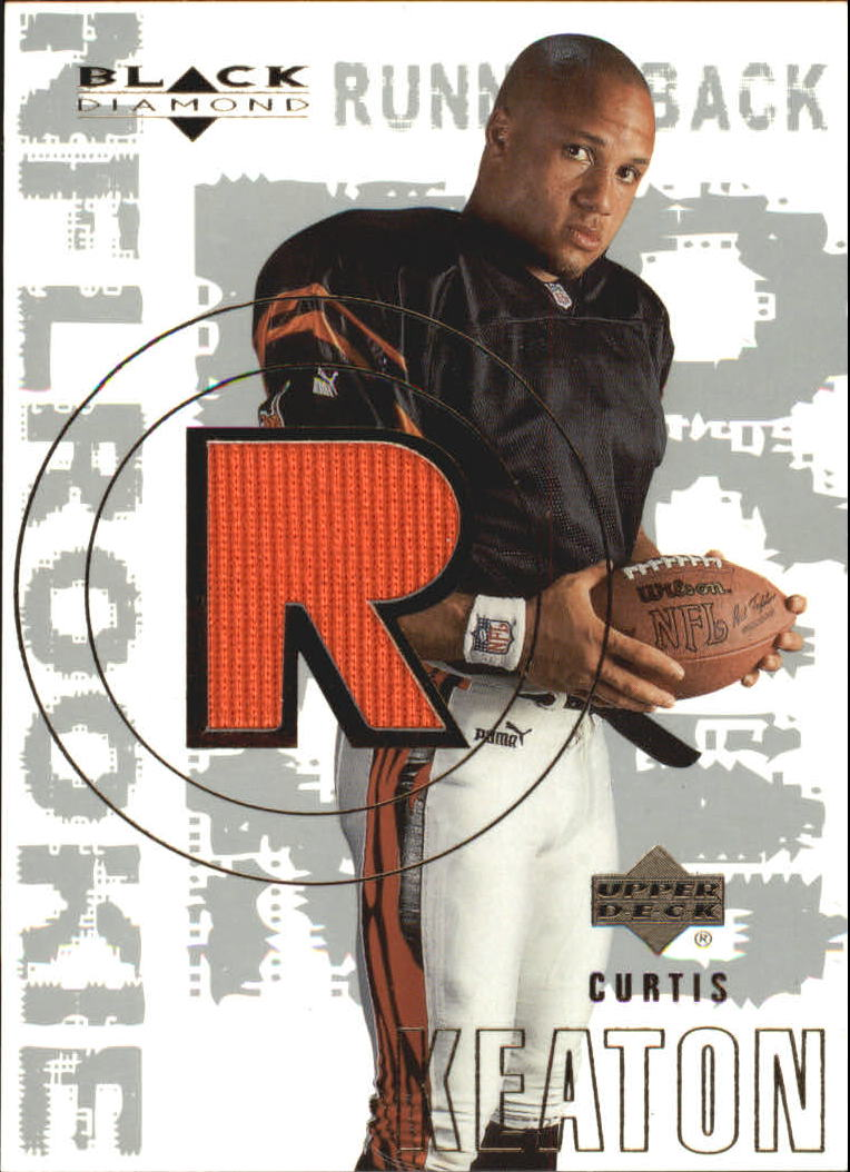 2000 Black Diamond #179 Curtis Keaton JSY RC