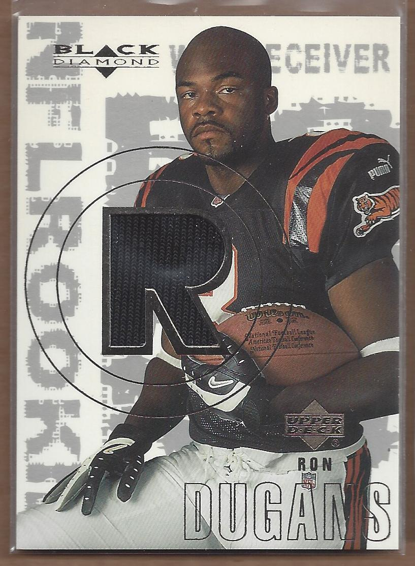 2000 Black Diamond #180 Ron Dugans JSY RC