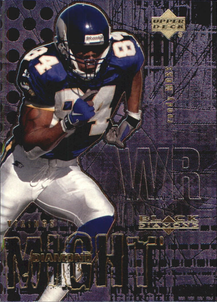 2000 Black Diamond Might #DM4 Randy Moss