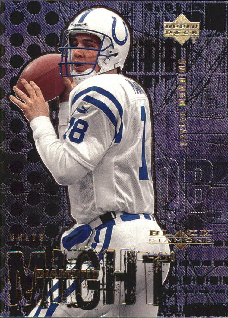 2000 Black Diamond Might #DM11 Peyton Manning