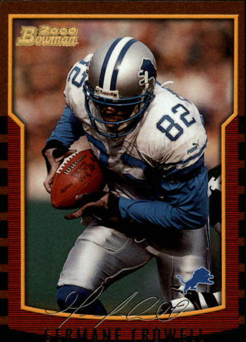 2000 Bowman #13 Germane Crowell