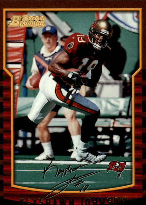 2000 Bowman #137 Keyshawn Johnson