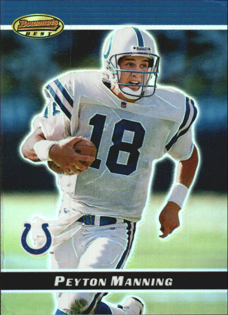 2000 Bowman Bowman's Best Previews #BBP1 Peyton Manning
