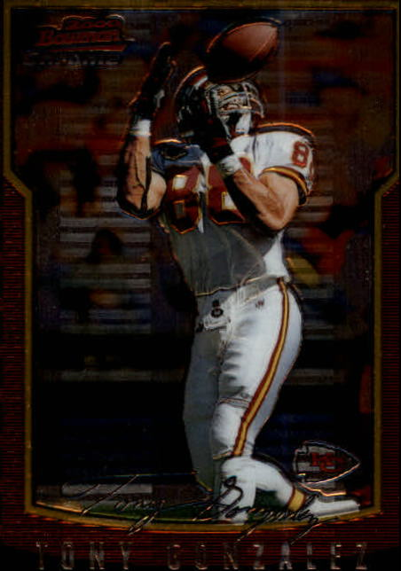 2000 Bowman Chrome #10 Tony Gonzalez