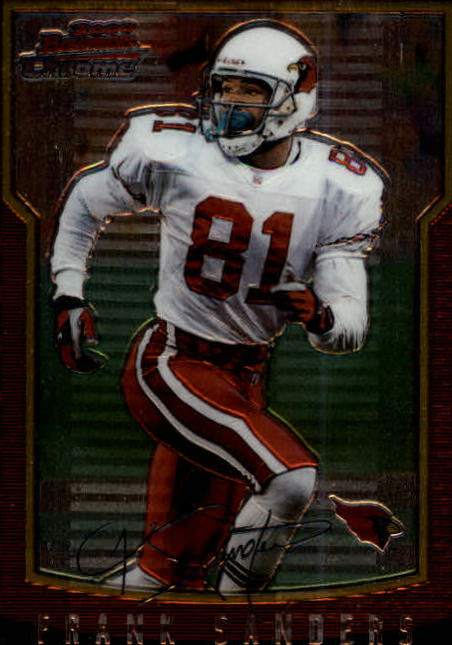 2000 Bowman Chrome #16 Frank Sanders