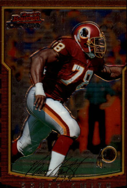 2000 Bowman Chrome #35 Bruce Smith