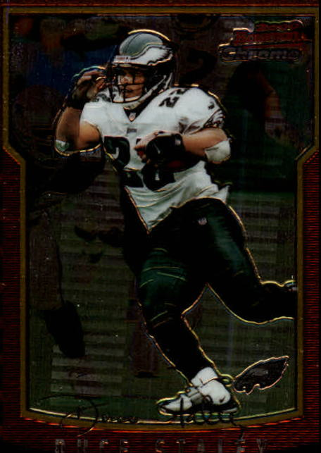 2000 Bowman Chrome #38 Duce Staley
