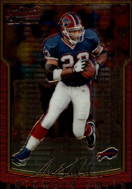 2000 Bowman Chrome #45 Antowain Smith