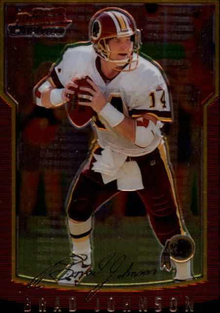 2000 Bowman Chrome #83 Brad Johnson