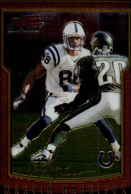 2000 Bowman Chrome #102 Marvin Harrison