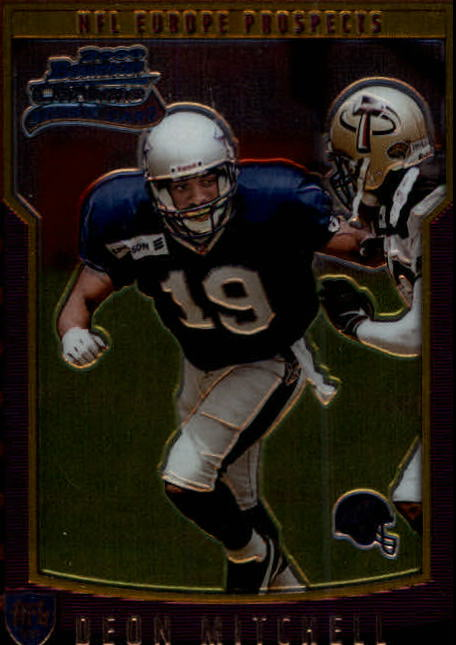 2000 Bowman Chrome #159 Deon Mitchell EP RC