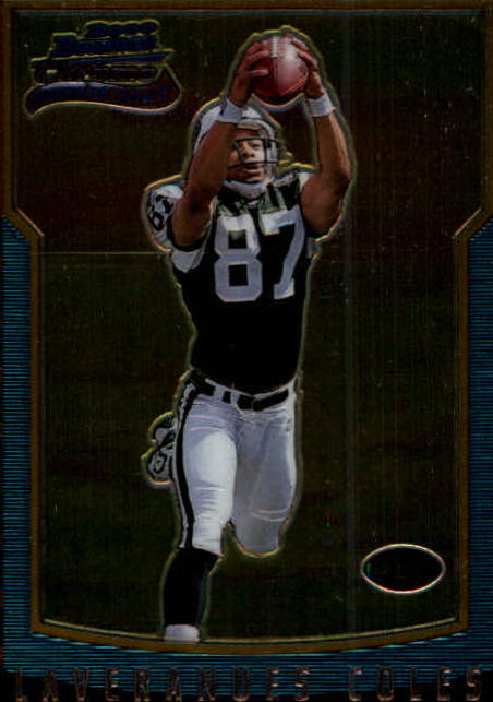 2000 Bowman Chrome #192 Laveranues Coles RC
