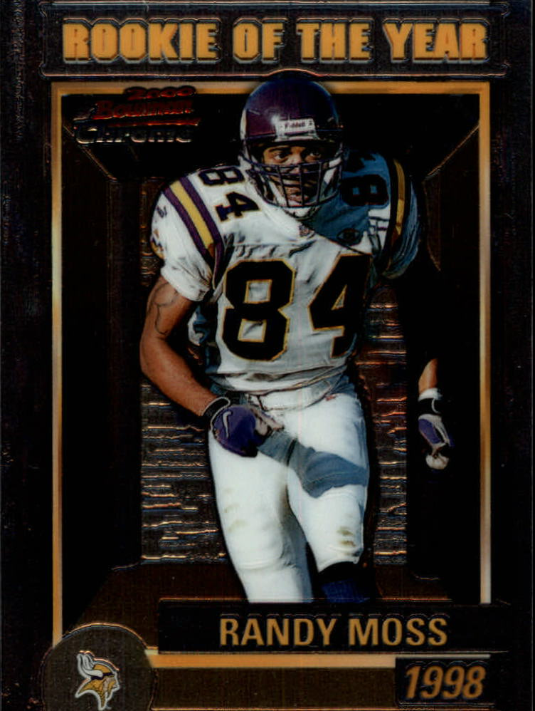 2000 Bowman Chrome Rookie of the Year Jumbos #R8 Randy Moss