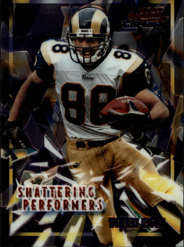 2000 Bowman Chrome Shattering Performers #SP16 Torry Holt