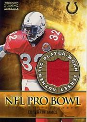 2000 Bowman Reserve Pro Bowl Jerseys #PBEJ Edgerrin James