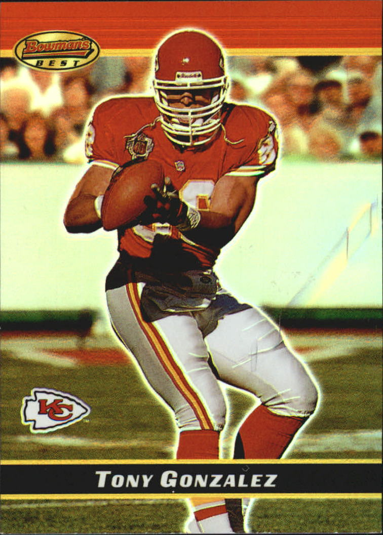 2000 Bowman's Best #50 Tony Gonzalez