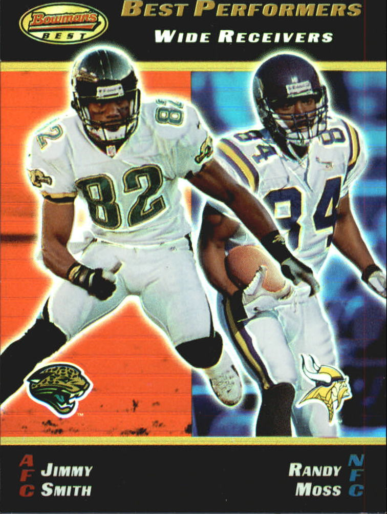 2000 Bowman's Best #93 J.Smith/R.Moss BP