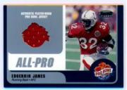 2000 Bowman's Best Pro Bowl Jerseys #EJRB Edgerrin James