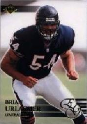 2000 Collector's Edge EG #155 Brian Urlacher HN RC