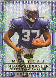 2000 Collector's Edge Masters Retail #249 Shaun Alexander
