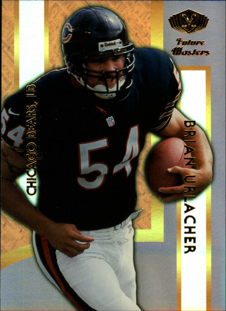 2000 Collector's Edge Masters Future Masters Gold #FM5 Brian Urlacher