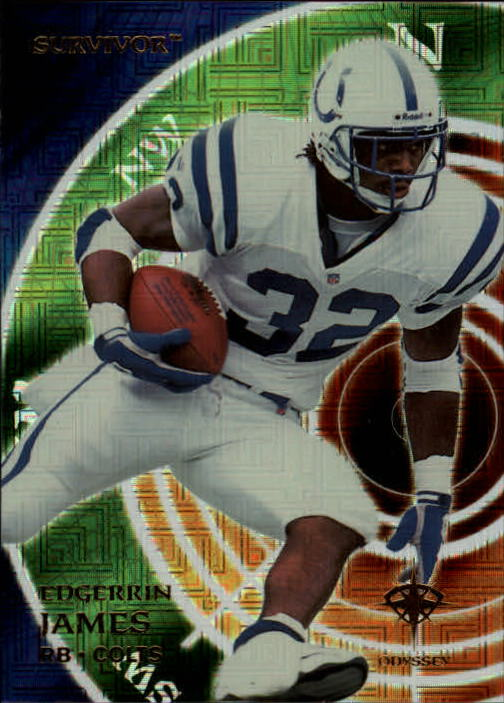 2000 Collector's Edge Odyssey #165 Edgerrin James SV