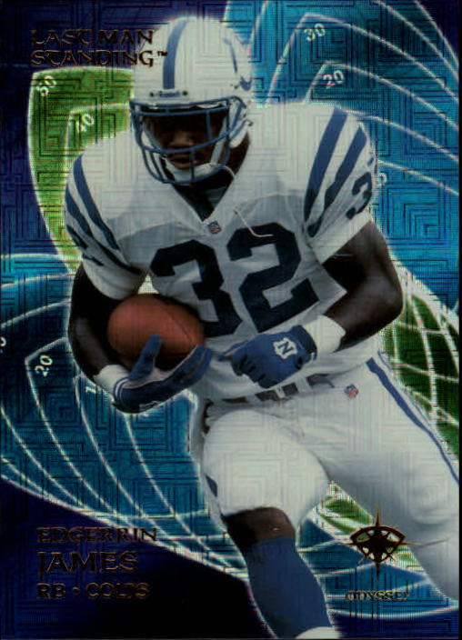 2000 Collector's Edge Odyssey #178 Edgerrin James LV
