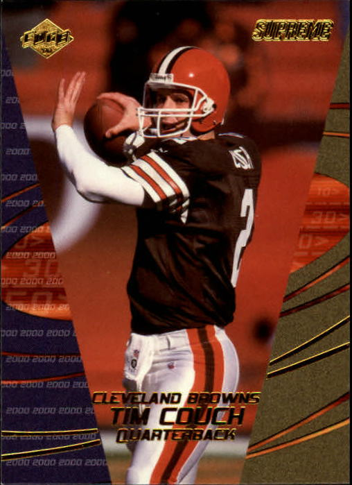 2000 Collector's Edge Supreme #33 Tim Couch