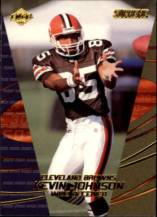 2000 Collector's Edge Supreme #34 Kevin Johnson