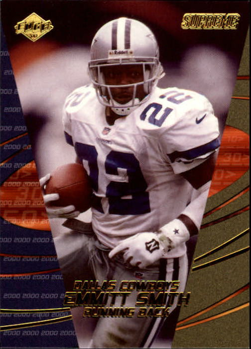 2000 Collector's Edge Supreme #39 Emmitt Smith front image