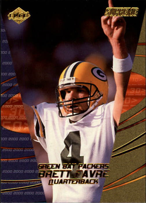 2000 Collector's Edge Supreme #52 Brett Favre