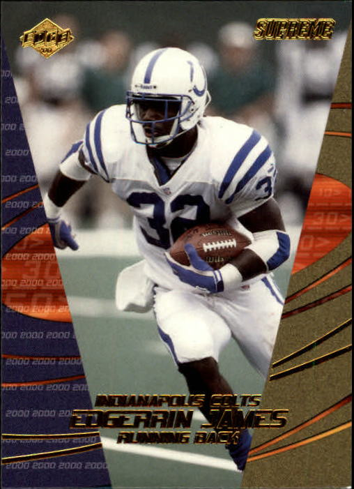 2000 Collector's Edge Supreme #58 Edgerrin James
