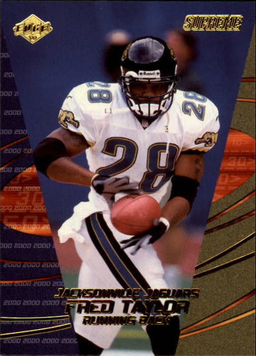 2000 Collector's Edge Supreme #65 Fred Taylor