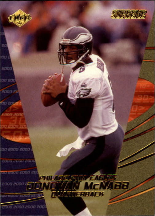 2000 Collector's Edge Supreme #107 Donovan McNabb