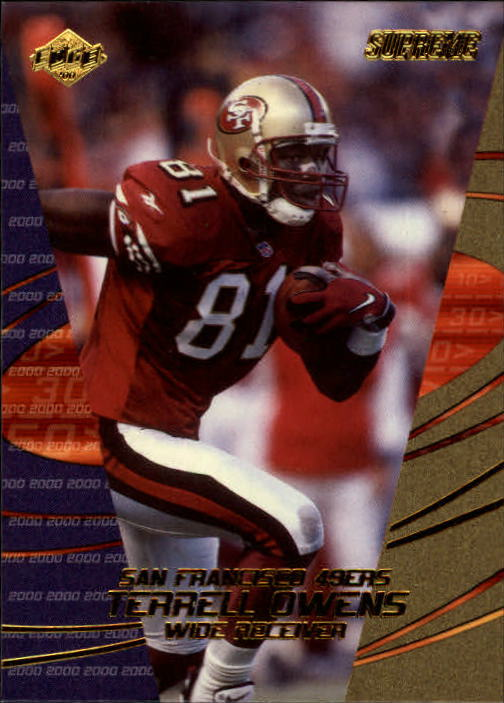 2000 Collector's Edge Supreme #125 Terrell Owens
