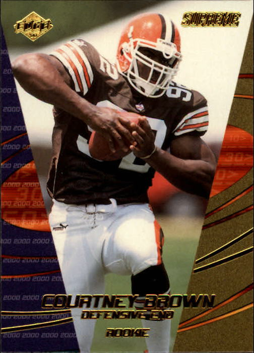 2000 Collector's Edge Supreme #154 Courtney Brown RC