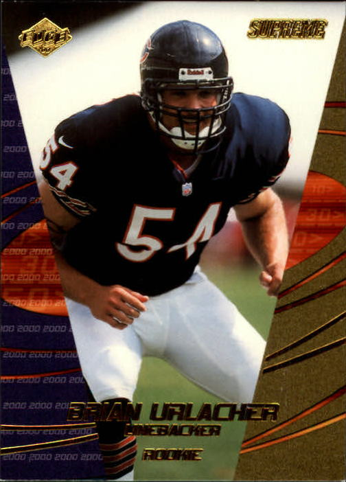 2000 Collector's Edge Supreme #190 Brian Urlacher RC